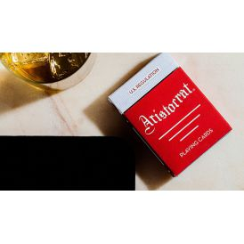 Aristocrat Classic Edition Red Deck Playing Cards