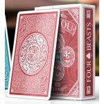SiShou Four Beasts Red Deck Cartes Playing Cards