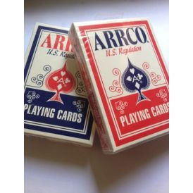 """Arrco Ohio """"Blue Seal"""" Set Playing Cards"""