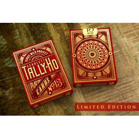 Tally-Ho Scarlett Edition Deck Playing Cards