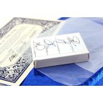 Bicycle Rider Back Foil Blue Deck Playing Cards
