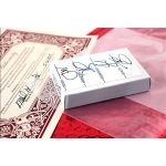 Bicycle Rider Back Foil Red Deck Playing Cards