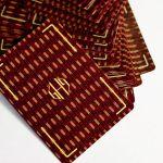 Hollingworth Burgundy Edition Cartes Deck Playing Cards