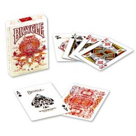 Bicycle Transducer Fire Playing Cards