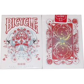Bicycle Transducer Lava Playing Cards