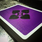 VANDA Violet Deck Playing Cards