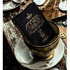 Alice in Wonderland Black Cartes Deck Playing Cards