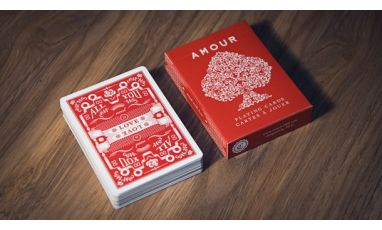 Amour Red Edition Deck Playing Cards