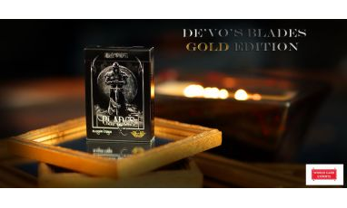 Blades Gold Edition Deck Playing Cards