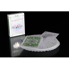 Chameleons Ultra Luxury Metallic Green Cartes Deck Playing Cards