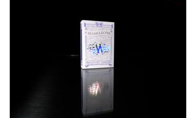 Chameleons Metallic Blue Deck Playing Cards