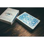 Chameleons Metallic Blue Deck Playing Cards