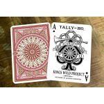 Tally-Ho Scarlett Edition Cartes Deck Playing Cards