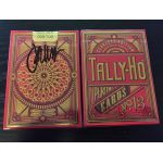 Tally-Ho Scarlett Signed Limited Edition Cartes Deck Playing Cards