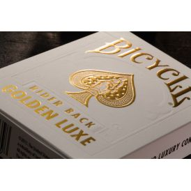 Bicycle MetalLuxe Golden Luxe Cartes Deck Playing Cards
