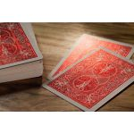 Bicycle MetalLuxe Crimson Luxe Red Cartes Deck Playing Cards