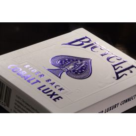 Bicycle MetalLuxe Cobalt Luxe Blue Deck Playing Cards