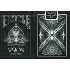 Bicycle Vision Black Playing Cards