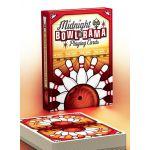 Midnight BOWL-A-RAMA Bowlarama Red Deck Playing Cards