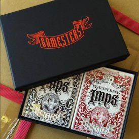 Whispering Imps Gamesters Limited Boxed Set Cartes Playing Cards