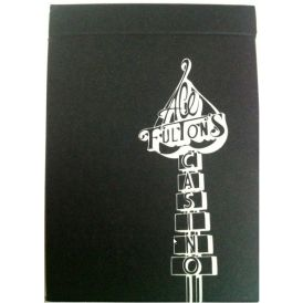 Ace Fulton Casino Playing Card Black Deck
