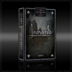 Leonardo Silver Deck Playing Cards