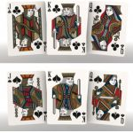 Luxx Palme Red Cartes Deck Playing Cards