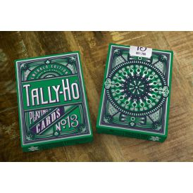 Tally-Ho Emerald Edition Cartes Deck Playing Cards