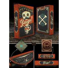 Fuego! Sol Day Of The Dead Cartes Deck Playing Cards