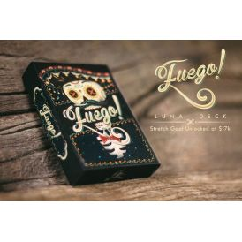 Fuego! Luna Day Of The Dead Cartes Deck Playing Cards