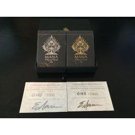 Mana Playing Cards Sybil Reserve Set Gold Platinum Deck