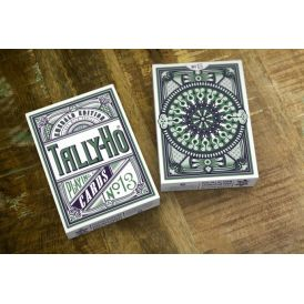 Tally-Ho Emerald Edition Display Cartes Deck Playing Cards