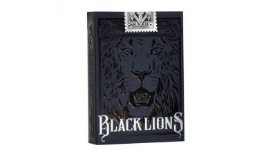 Black Lions Cartes Deck Playing Cards