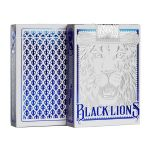 Black Lions Blue Edition Deck Playing Cards