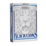 Black Lions Blue Edition Cartes Deck Playing Cards