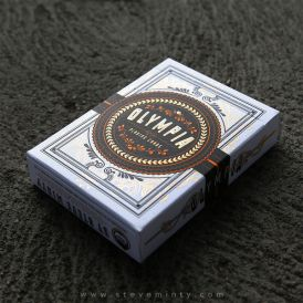 Olympia White Cartes Deck Playing Cards