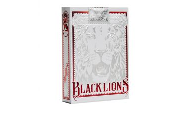 Black Lions Red Edition Cartes Deck Playing Cards