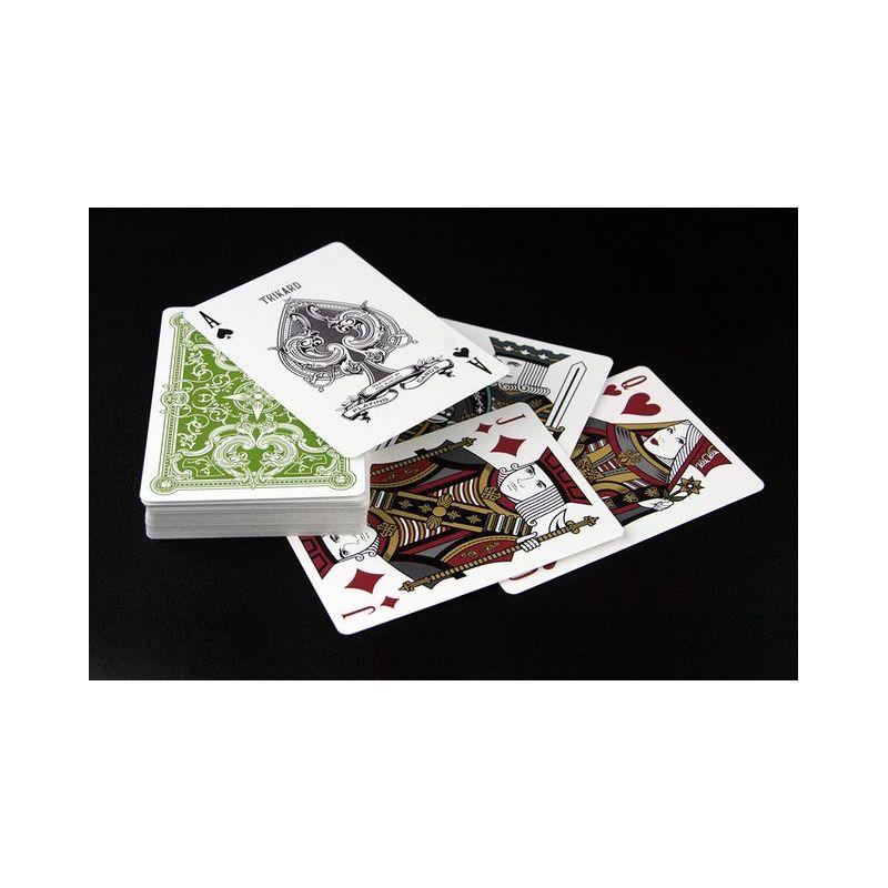 Viridian Green Deck Playing Cards