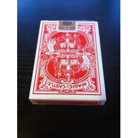 Magic Castle Red Playing Cards