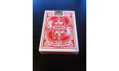 Magic Castle Red Cartes