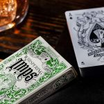 Whispering Imps Gamesters Green LIMITED Deck Playing Cards