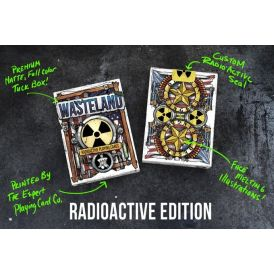 Wasteland Radioactive Edition Cartes Deck Playing Cards