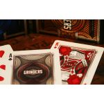 Grinders Copper Deck Playing Cards