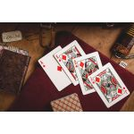 Vintage Plaid Arizona Red V2 Deck Playing Cards