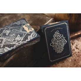 Sons of Liberty Patriot Blue Cartes Deck Playing Cards