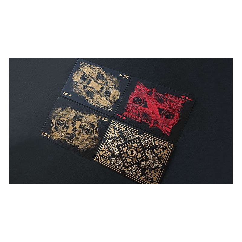 Bicycle Utopia Black Gold Deck Playing Cards Cartes Magie