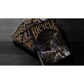 Bicycle Utopia Black Gold Cartes Deck Playing Cards
