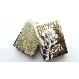 Bicycle Utopia Gold Deck Playing Cards