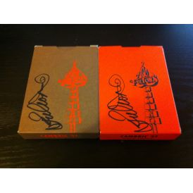Ace Fulton Casino SIGNED Bundle Orange Brown Playing Cards