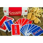 Chicken Nugget Red Cartes Playing Cards